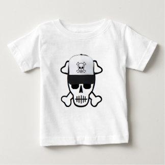 Camiseta Crânio com chapéu do crânio