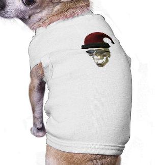 Camiseta Crânio do papai noel