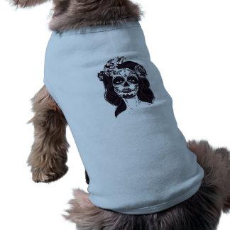 Camiseta Crânio gótico