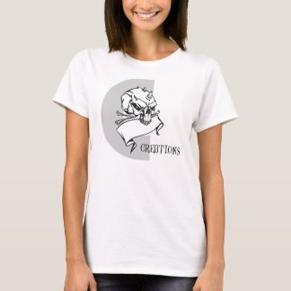 Camiseta Criações do design de jogo fêmeas