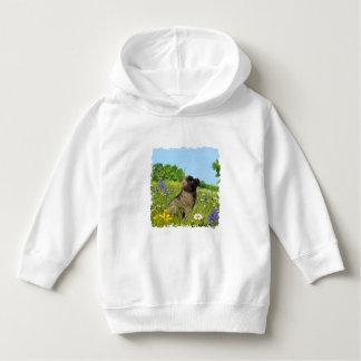 Camiseta Criança Ludwig o Hoodie do filhote de cachorro de