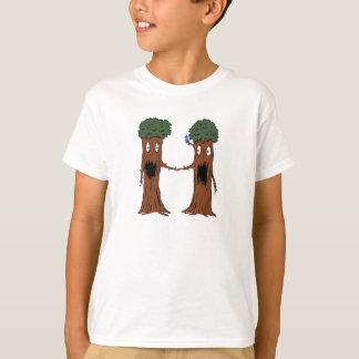Camiseta Criatura H do alfabeto