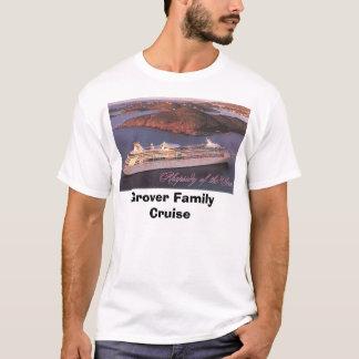 Camiseta Cruzeiro da família de Grover