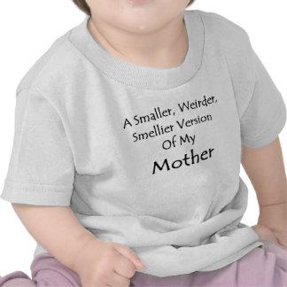 Camiseta da criança minha mãe