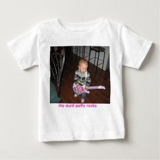 camiseta da estrela do rock para miúdos