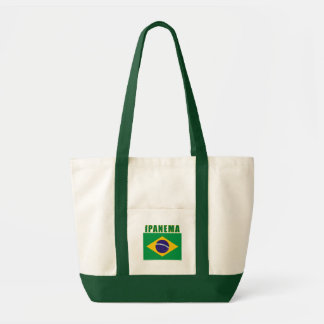 Camiseta da praia de IPANEMA Brasil, presentes Sacola Tote Impulse
