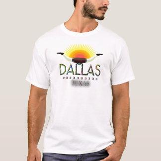 Camiseta Dallas com chifres do boi