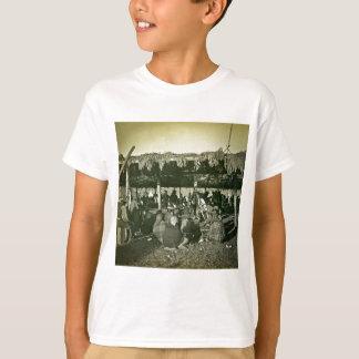 Camiseta dança de guerra Flathead do nativo americano de