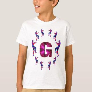 Camiseta Dança do ZOMBI com alfabetos: A a Z