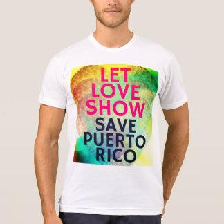 """Camiseta Das """"camisa Fundraising de Puerto Rico economias"""""""