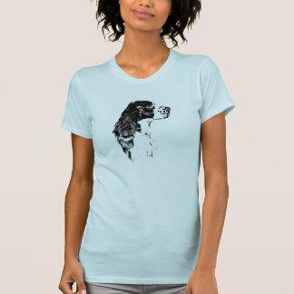 Camiseta de cão do Spaniel de Springer inglês da