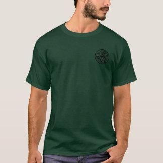 Camiseta de cão redonda celta