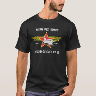 Camiseta de Mikoyan-Gurevich MiG-21