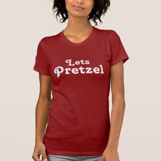 Camiseta Deixa o pretzel