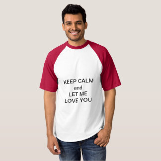 Camiseta Deixe-me amá-lo
