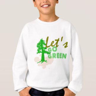 Camiseta Deixe-nos ir verde