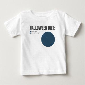 Camiseta Deleites dos doces da dieta do Dia das Bruxas e