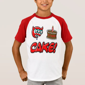 Camiseta Demónio do bolo