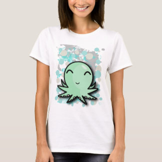 Camiseta design bonito do polvo