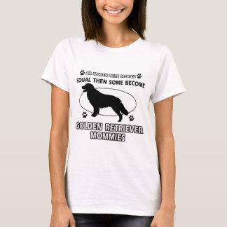 Camiseta Design do cão do golden retriever