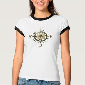 Camiseta Design do compasso da fantasia (céltico)
