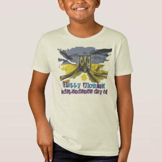 Camiseta Dia da Independência feliz, Ucrânia