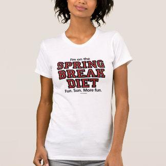 Camiseta Dieta Lite das férias da primavera