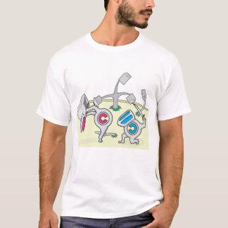 Camiseta Direitos reservados e copyleft da luta