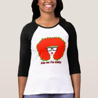 """Camiseta Diva para o """"beijo mim eu sou Kinky """""""