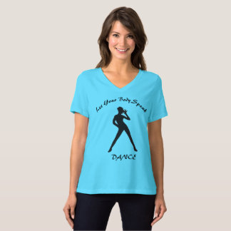 Camiseta do amante da dança