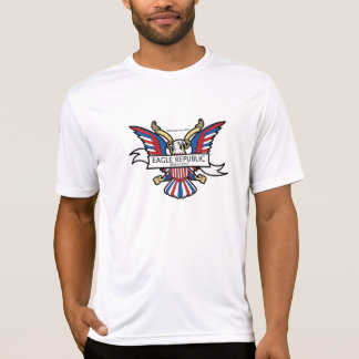 Camiseta do clássico da república de Eagle