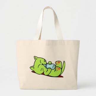 Camiseta do gatinho e presentes 467 bolsas de lona