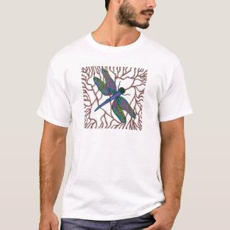 Camiseta Doodle da libélula
