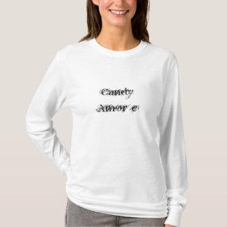 Camiseta ` E de Amor dos doces