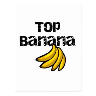 Camiseta e presentes da banana superior cartão postal