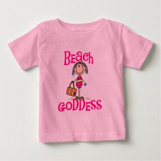 Camiseta e presentes da deusa da praia
