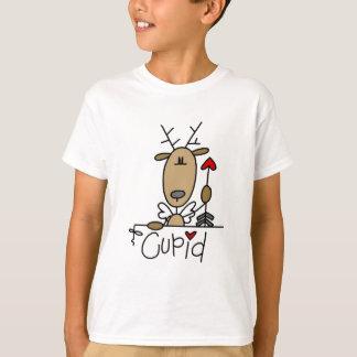 Camiseta e presentes da rena do Cupido