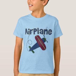 Camiseta e presentes do avião