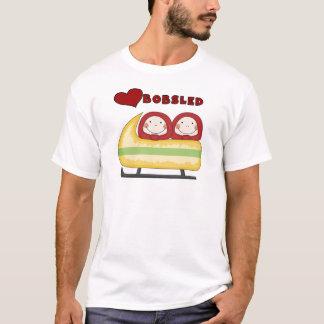 Camiseta e presentes do Bobsled do amor
