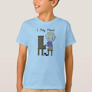 Camiseta e presentes do jogador de piano