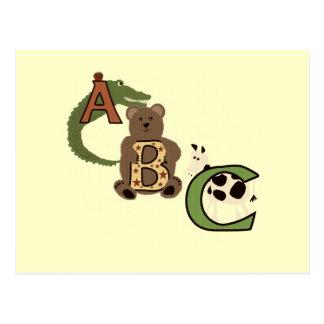Camiseta e presentes envelhecidos de ABC Cartão Postal