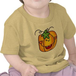 Camiseta e presentes felizes da lanterna de Jack O