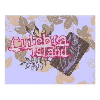Camiseta e presentes gráficos da ilha de Culebra Cartão Postal