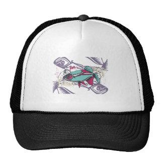 Camiseta e presentes tropicais dos peixes boné