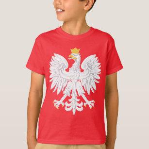 cb5f93d9ad Camiseta Emblema polonês - protetor do Polônia - erva