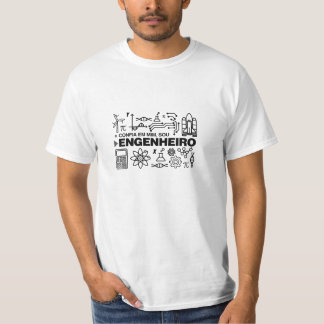 Camisetas de Engenharia na Zazzle Portugal