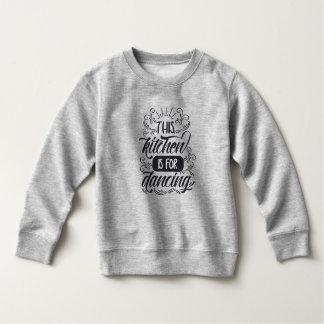 Camiseta Engraçado a cozinha é dançando a camisola de |