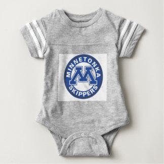 Camiseta Engrenagem do bebê do logotipo dos capitães do MHS