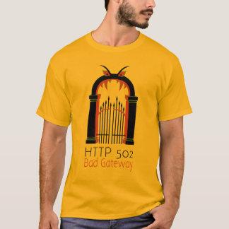 Camiseta Entrada do mau do HTTP 502
