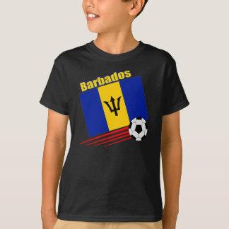 Camiseta Equipe de futebol de Barbados